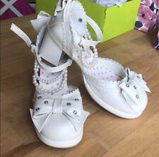white lolita shoes An Tai Na