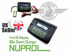 Nuprol SM4 Smart Battery Balance Charger for Airsoft Lipo, LiFe Nicad NiMH