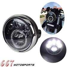 """E-Mark 7 """" Faro Rotondo Moto Fari Anteriori Led Vision Lampada per Chopper"""