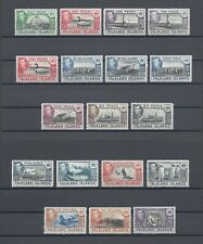 FALKLAND ISLANDS 1938-50 SG 146/63 MNH Cat £475