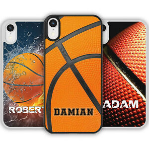 PERSONALISED NAME BASKETBALL Phone Case Cover for iPhone Samsung Galaxy Gift