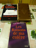 lot 3livres affaire CLEARSTREAM++DALLAS+ +LES RAIsONS DE MA COLéRE
