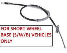 Rear Hand Brake Cable L/H For Isuzu Trooper Bighorn 3.1TD - UBS69 - SWB (1992+)