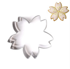 Stainless Steel Cherry Blossom Cake Cookie Cutter Mold Biscuit Mold Baking Tools