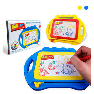 Educational Kids Doodle Toy Erasable Magnetic Drawing Board + Pen Kits Toy Gift