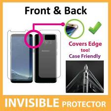 Samsung Galaxy S8 Screen Protector - FRONT AND BACK Invisible Shield by BAS