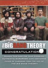 Big Bang Theory Season 3 & 4 Rare Guys Redeemed R39 Costume Redemption Card