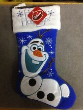 """Disney Olaf Stocking 16"""" Long Cute from frozen Happy Holidays  (A-1)"""