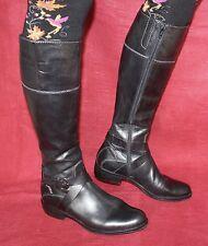 Scarpe Geox echt Leder Stiefel dimensioni 38 Leather Stivali uk5 PELLE SCARPE DA DONNA