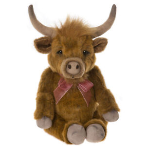 Patty, a 14 inch Plush Cow from the 2019 Charlie Bearhouse Collection
