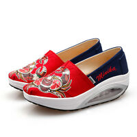 light canvas swing athletic loafers shoes slip