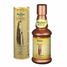 Nuzen Gold Herbal Hair Oil Promotes Hair Growth& Regrows New Hair Naturally100ml