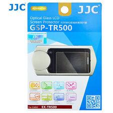 JJC gsp-tr500 Optisches Glas LCD Displayschutz Folie für Casio tr500 Kamera 2pk