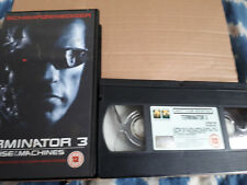 Terminator 3: Rise of the Machines  -  2003 Video VHS Tape -  Schwarzenegger