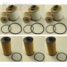 3 of Each Turbo Diesel Fuel & Oil Filter Replacement FD4616 FL2016 For Ford 6.0L