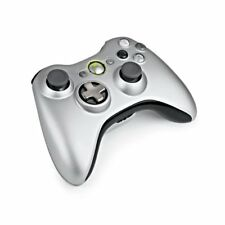 Official Microsoft Xbox 360 Wireless Controller with Transforming D-Pad - Silver