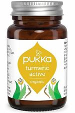 Pukka Orgánico activo de la cúrcuma & Boswellia 60 Caps (paquete de 4)