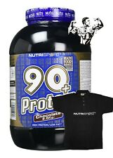 NUTRISPORT 90+ WHEY PROTEIN | LOW CARB | 2.5kg Lean Protein & T SHIRT