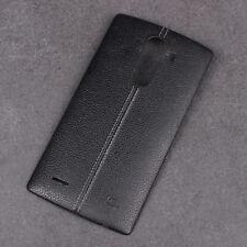 LG G4 / H815 - Akkudeckel Backcover Battery Cover Gehäuse NFC / SCHWARZ / LEDER