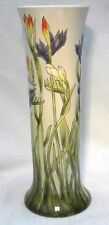 "COBRIDGE POTTERY 10"" FLORAL VASE  CROCOSMIA 2001"