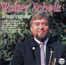 WALTER SCHOLZ - DIE SCHWARZWALDMUSIKANTEN : TROMPETENZAUBER / CD - TOP-ZUSTAND