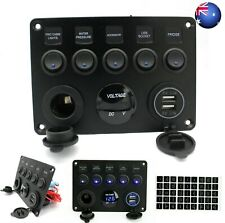 """AU 2"""" 52mm Red Digital LED ELEC Volt Voltage Meter Gauge Boat Car Auto 0 15v"""