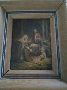 C. Bosseron Chambers HOLY FAMILY Framed Print - VINTAGE
