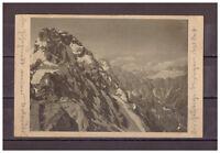 Ansichtskarte - Watzmann-Mittelspitze gegen den Hundstod 1922 AK