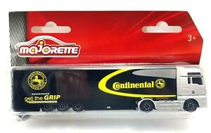 Majorette Trailer Continental Tyres Truck Lorry New And Sealed