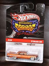Hot Wheels LARRY'S GARAGE '57 CHRYSLER 300 CHASE REAL RIDERS 1:64
