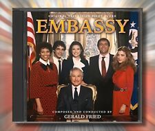 EMBASSY / A KILLER IN THE FAMILY Gerald Fried RARE TV MOVIE SCORES