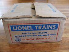Complete 1954 Lionel O-27 Gauge 5 Car Freight Set w/ 2065 Hudson Loco EX #1515WS