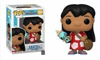 Funko POP Disney Lilo & Stitch Lilo w/Scrump Pre Order May mint w protector