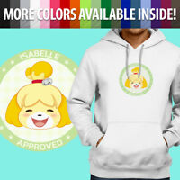 Animal Crossing Isabelle Approved Pocket Camp Pullover Sweatshirt Hoodie Sweater