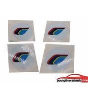 stickers centre de roue Peugeot 205 PTS 59mm