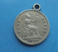 More details for 1836 four pence (groat) william iv, mounted, as shown.