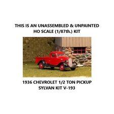 HO 1/87th: 1936 CHEVROLET 1/2-TON PICKUP - Sylvan - Kit V-193
