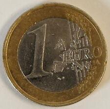 1 Euro Münze Fehlprägung Stufe 2 2002 LIBERTE Halbe Sterne Error dezentriert
