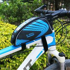 Universal Bicycle Bike Cycling Frame Pannier Front Tube Bag Pouch Phone Holder