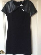 Leather Dry-clean Only Dresses for Women's Shift Dresses