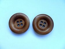 24 pcs  Large  Wood  Scrapbooking // Sewing Buttons  23mm  a