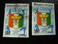 COTE D IVOIRE - timbre yvert/tellier n° 972 x2 obl (A28) stamp