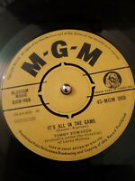 "Tommy Edwards ‎– It's All In The Game Vinyl 7"" Single MGM 989 1958"