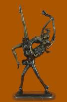 Nude Dancer Sculpture Statue Art Abstract Signed J.erte Modern Hot Cast Gift T