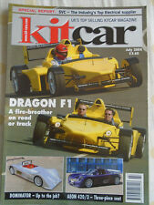 Kit Car Jul 2004 Dragon F1, Dominator, Aeon 420/3