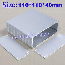 110*110*40mm (L*W*H) Aluminum Shell Project Box Enclousure Case Electronic Cover