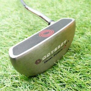 """Odyssey Dual Force 2 #5 34"""" Putter Golf Club True Temper Right Handed"""