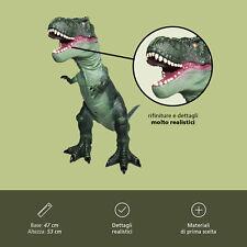 Dinosauro T Rex Gigante Altezza 47 cm In Gomma Dinosauri Giocattolo per Bambini