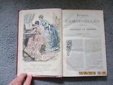 MODE - JOURNAL DES DEMOISELLES - 1885 - 12 GRAVURES EN COULEURS
