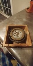 Vintage Dirigo Compass E. H. Sherman, Seattle. Wash. With Gimbal Mount In W. Box